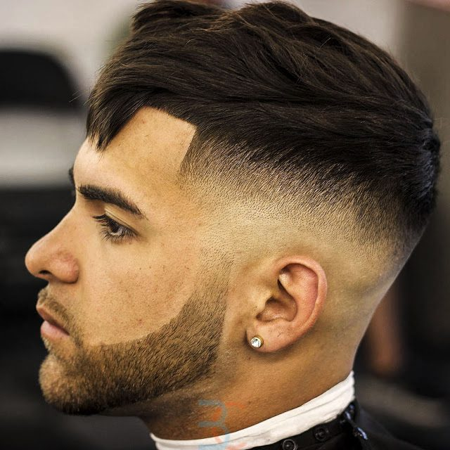 Crop With Fringe-mens haircuts #menshair #menshaircut