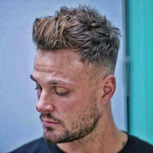 Quiff With Undercut Fade-mens haircuts #menshair #menshaircut