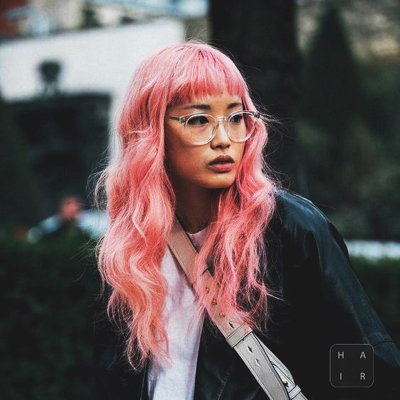 Millennial Pink Hair Color
