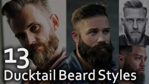 13 Ducktail Beard Styles
