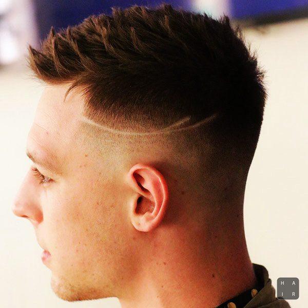 Taper Fade + Short Hair