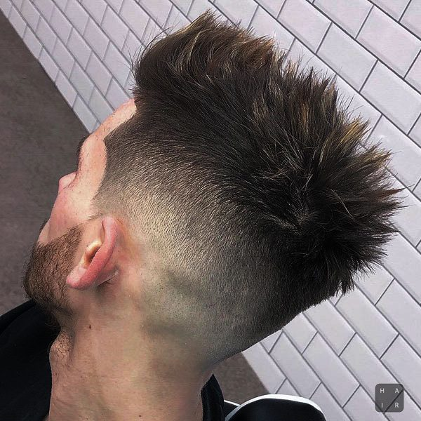 Short Sides and Back Taper-mens haircut trends 2020-2020 hair trends men-2020 men's hair trends-men's hair trends 2020