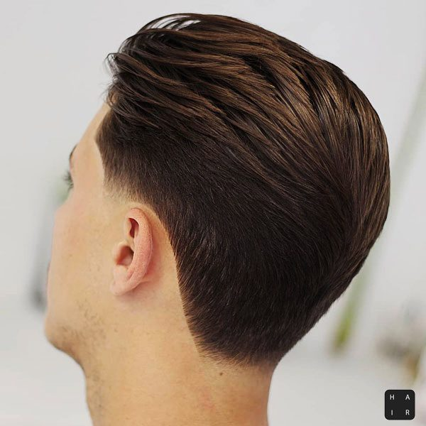 Tapered Neckline-mens haircut trends 2020-2020 hair trends men-2020 men's hair trends-men's hair trends 2020