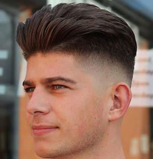 Disconnected Undercut with Modern Quiff