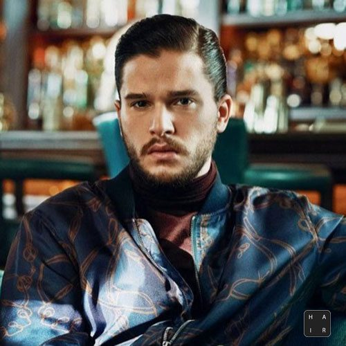 Kit-Harington-Short-Hair-Hard-Part-Comb-Over-mens hairstyles