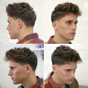 Medium Length Textured Haircut For Guys