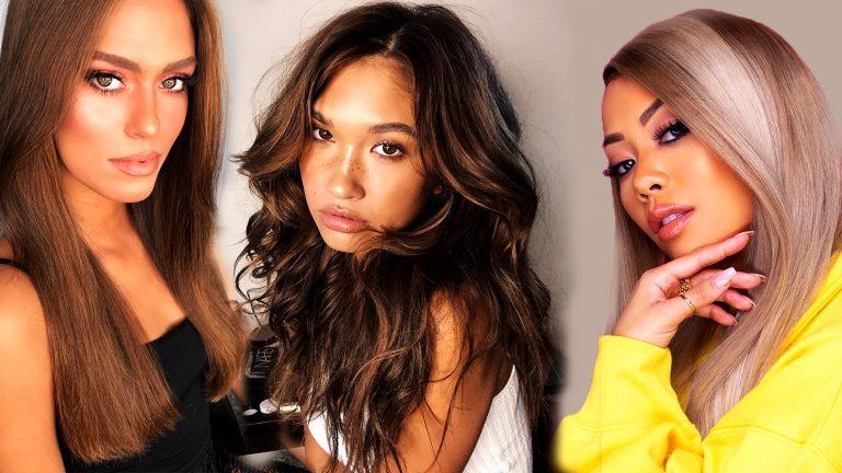 Women Hair color for dark skin