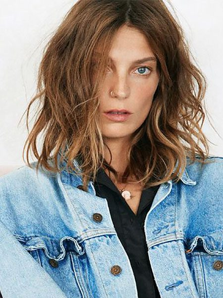 short hairstyles for women-Long Wavy Bob