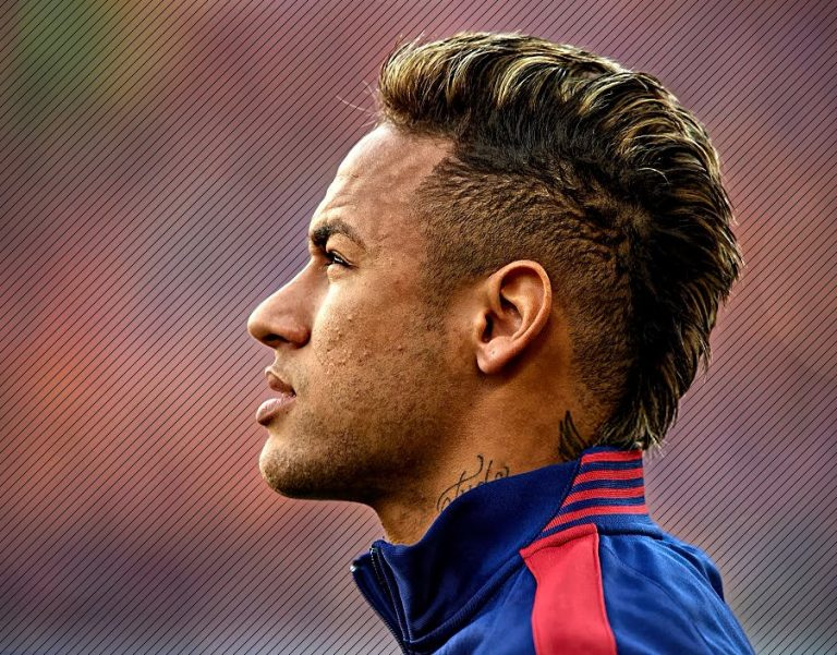 neymar haircut-neymar jr haircut-neymar jr hairstyle-wide mohawk hairstyles-blonde streaks-neymar blonde hair
