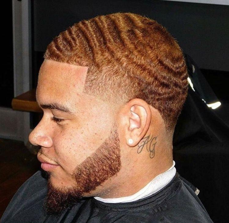 360 Wave Taper - Platinum Waves for men-hair colors for men 2020-Platinum waves hairstyles 2020