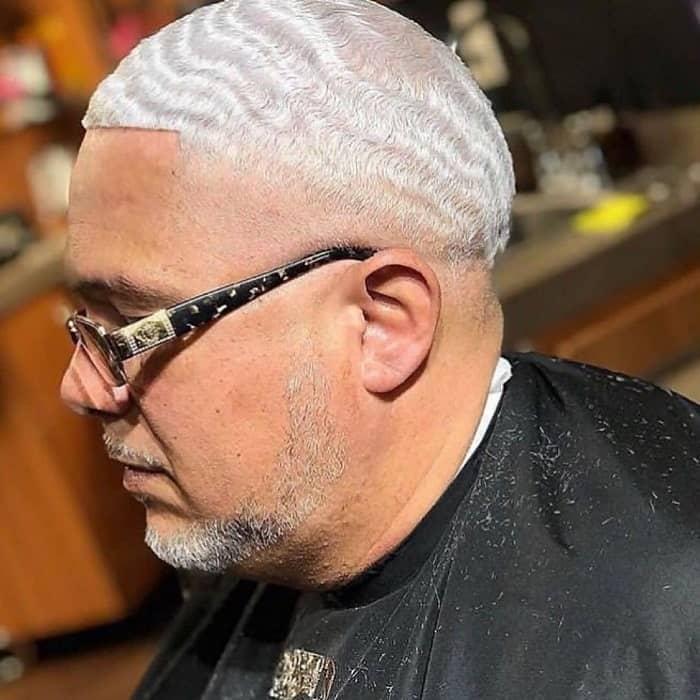 SHORT PLATINUM BLONDE HAIR-Platinum Waves for men-hair colors for men 2020-Platinum waves hairstyles 2020