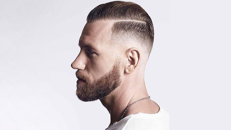 High Fade Haircut-Fade haircuts for men-men's fade haircuts-men's haircuts #menshair #menshaircuts
