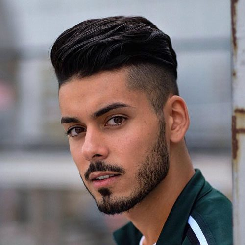 Medium Undercut styles-medium hairstyles for men 2020