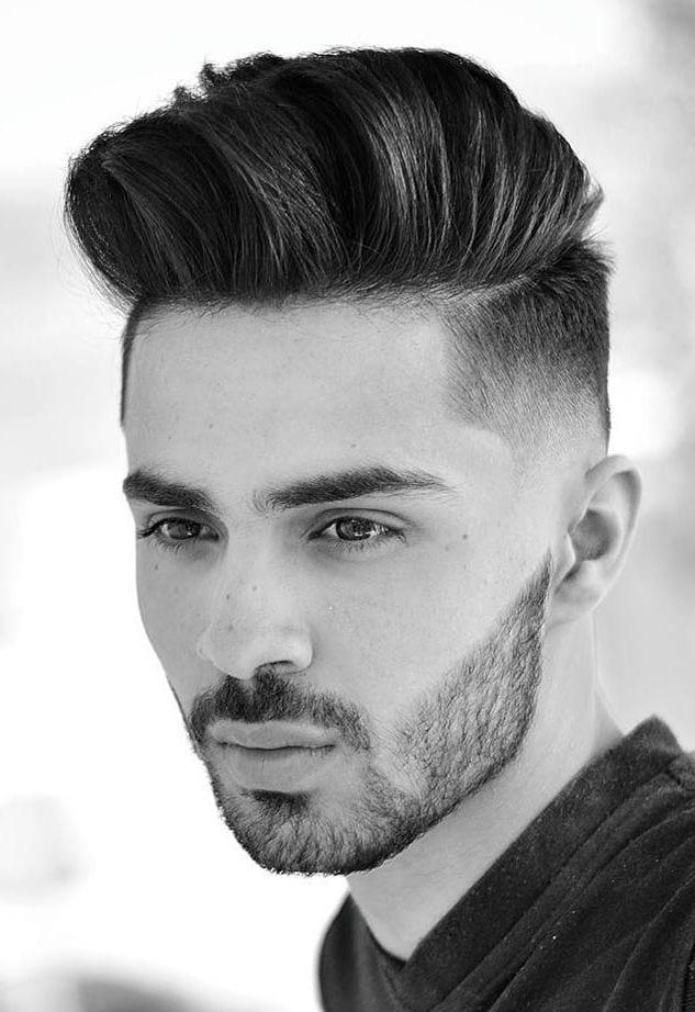 Medium Undercut styles-medium hairstyles for men 2020-medium length hairstyles men