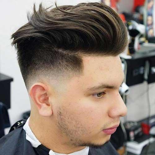 Straight-Hair-Burst-Fade