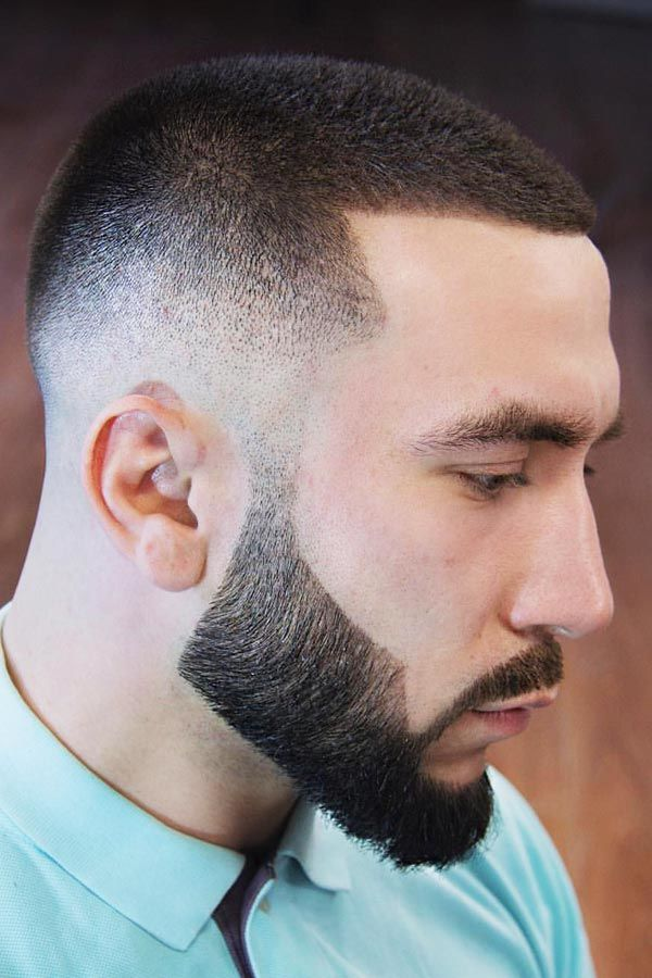 Buzz Cut-buzz cut men-brush cut-buzz haircut-buzz cut with beard-buzz cut hairstyles-buzz cut haircuts #menshair #menshaircuts