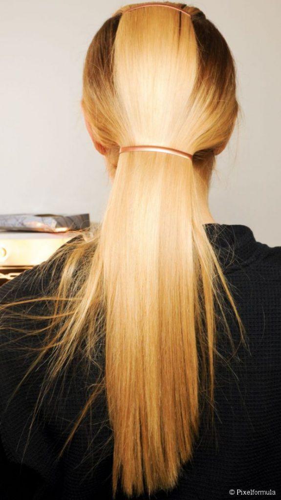 swoop ponytail
