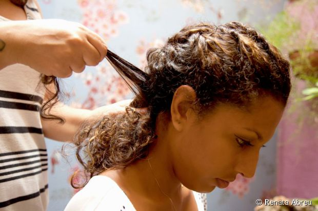 twist ponytail for black hair