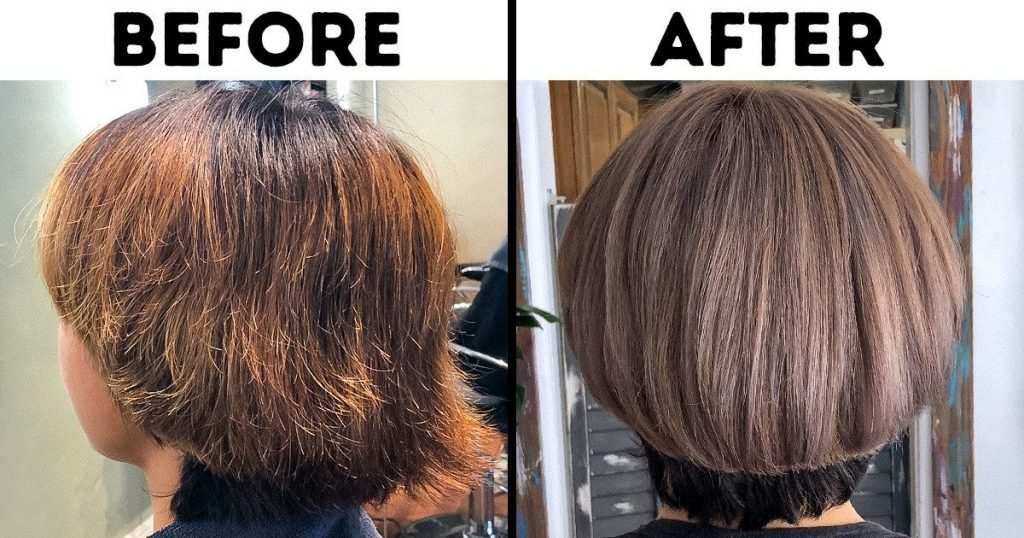 How to hydrate hair after bleaching?