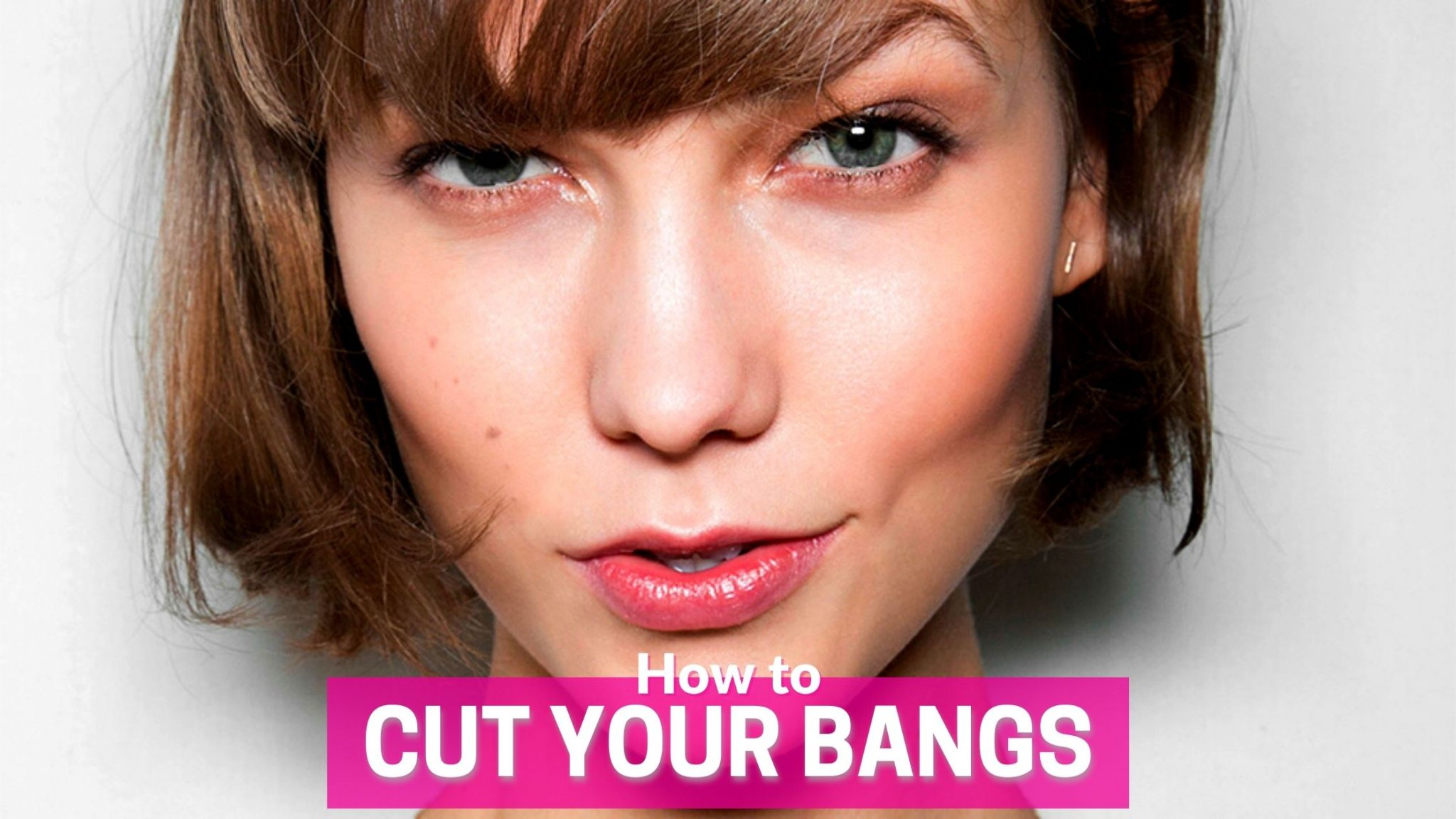 how to cut your bangs